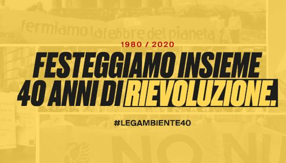 20 maggio 2020, 40 di Legambiente!
